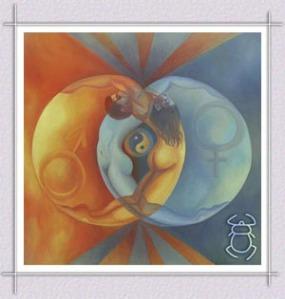 Yin & Yang Male & Female in balance