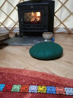 the woodburner warmth