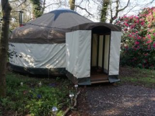 The Full Circle yurt