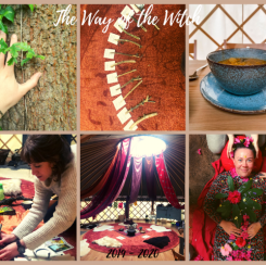 way of the witch soup ogham oak tree yurt ceremony